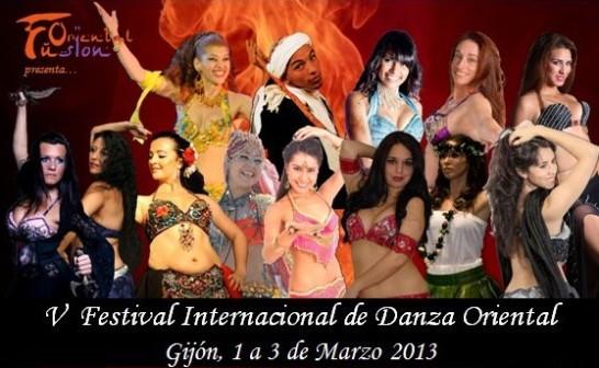 V Festival danza oriental Gijón