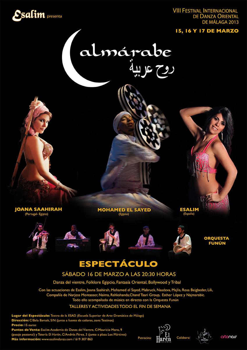 VII Festival Internacional Danza Oriental Ciudad de Malaga 15 16 y 17 de Marzo