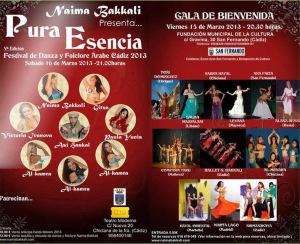 Festival de Danza y Folclore Árabe de Chiclana de la frontera (Cádiz) del 15 al 17 de Marzo.