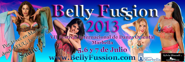 VII Festival Internacional de Danza Oriental Belly Fussion 2013  Marbella  5,6 y 7 de Julio 2013