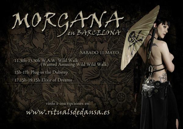 Taller Danza Tribal con Morgana (Madrid) en Barcelona 11 de mayo 2013