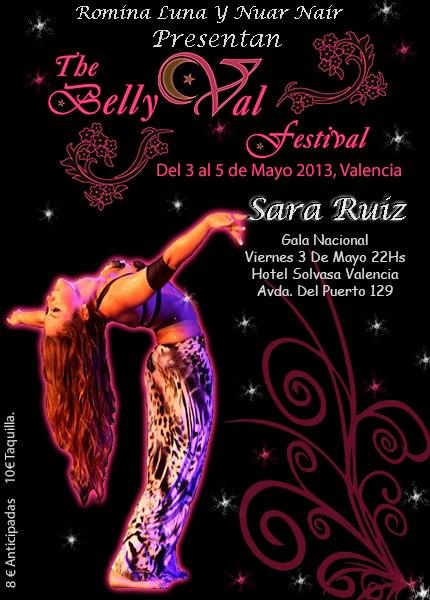 International Bellydance Festival Valencia, del 3 al 5 de mayo de 2013