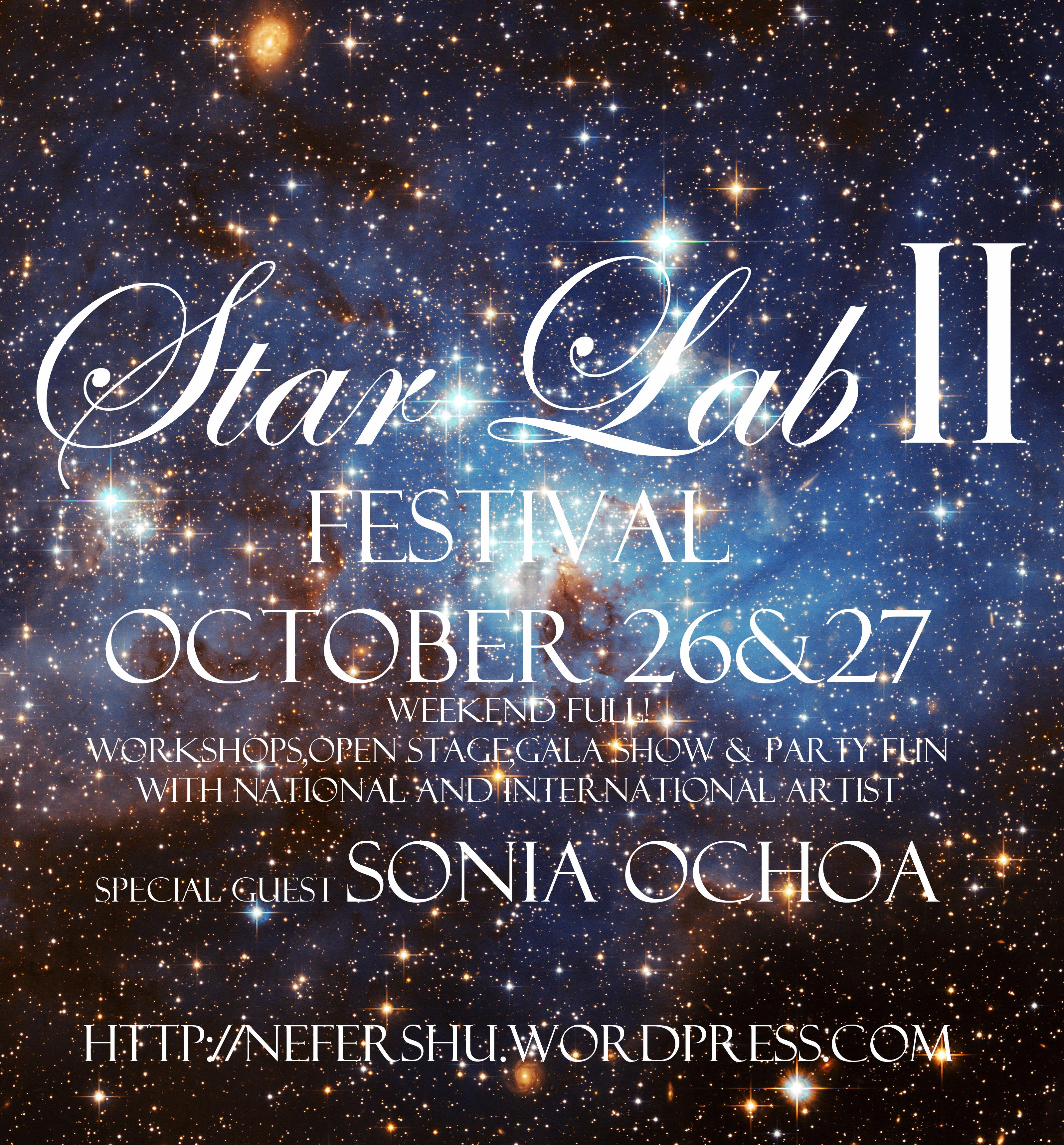 Star Lab LoveInAction  II Festival con Sonia Ochoa 26 y 27 de Octubre 2013 en Barcelona