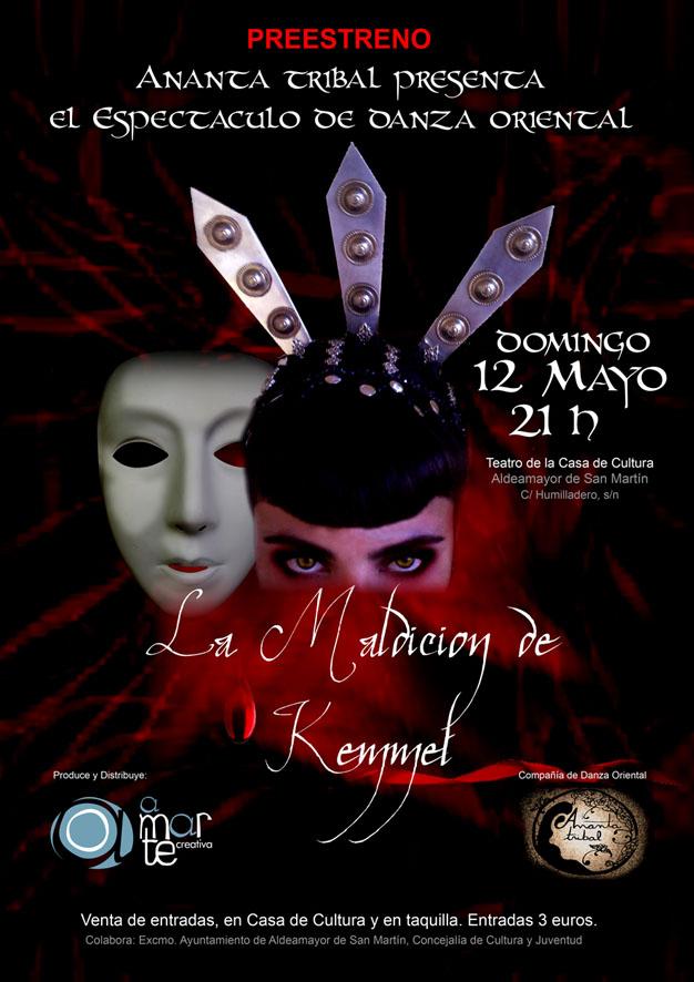 """Ananca Tribal en """"La maldicion de Hemmet"""" danza Tribal 12 mayo 2013"""