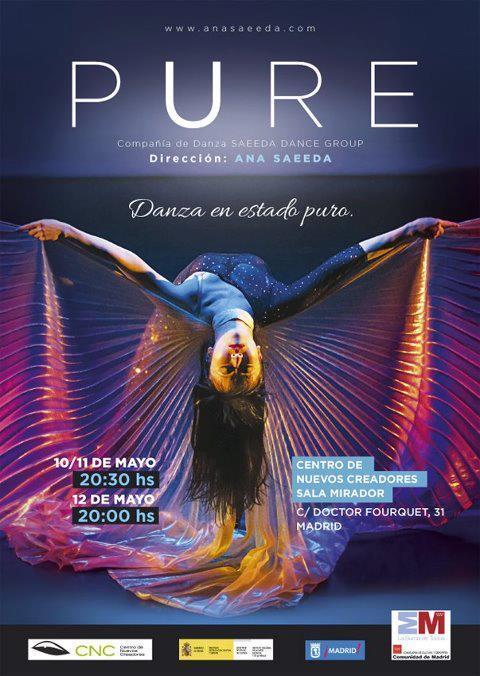 """Ashmil Yassul de nuevo en """"Pure"""" del 10 al 12 de mayo de 2013  (Madrid )"""
