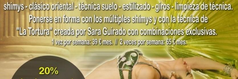 Talleres y Clases de Temática Especial del 1 al 26 de Julio con Sara Guirado ( Valencia)
