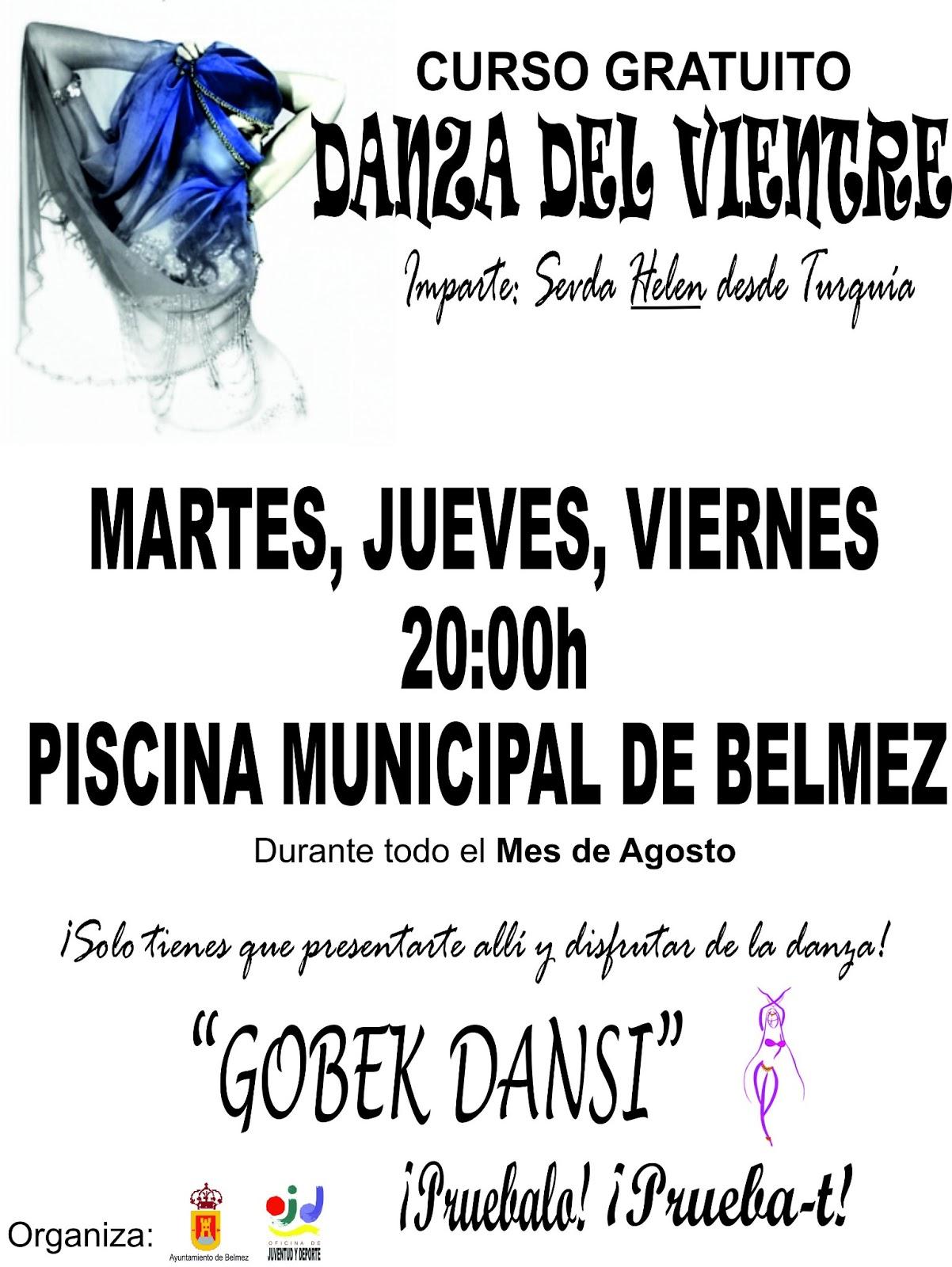 Danza del Vientre, cursos gratuitos en agosto (Córdoba)