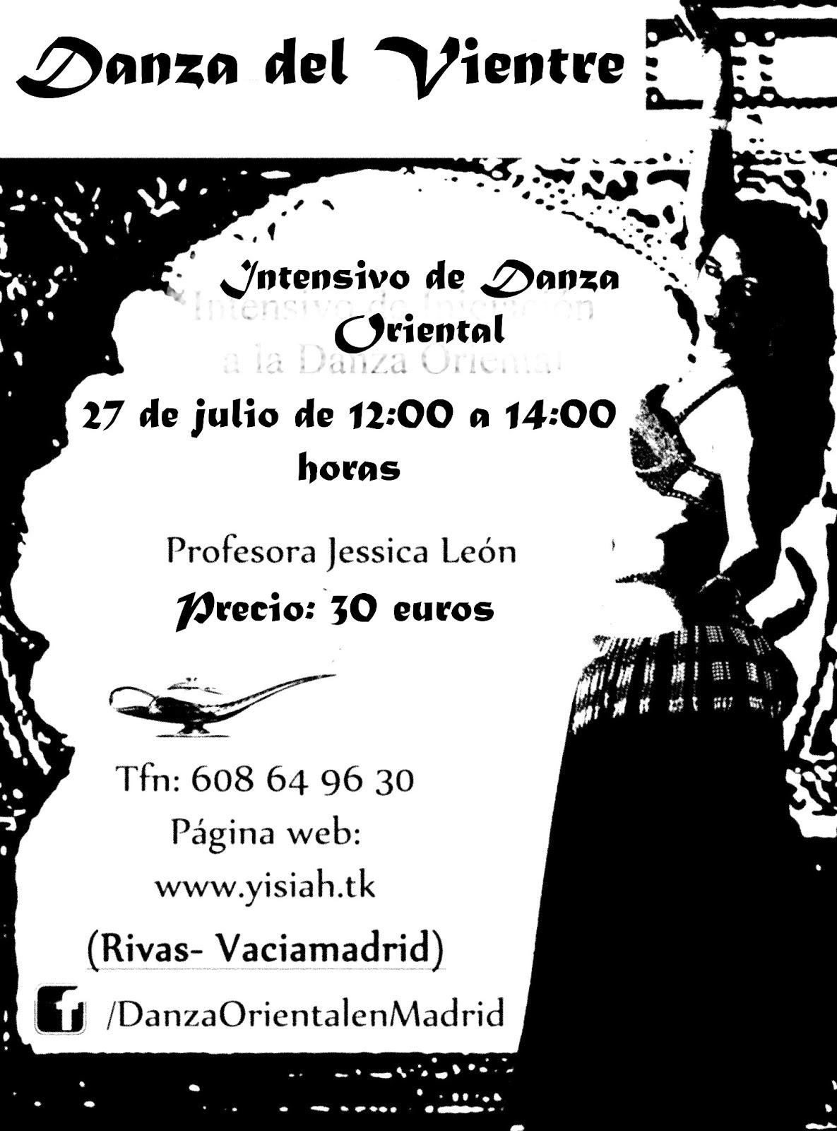 Curso Intensivo de Danza Oriental 27 de julio ( Madrid)