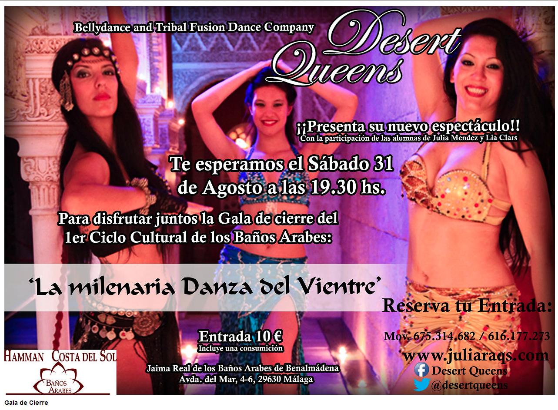 Baño Arabe Benalmadena:La Milenaria Danza del Vientre Agosto de 2013 en Benalmádena (Málaga