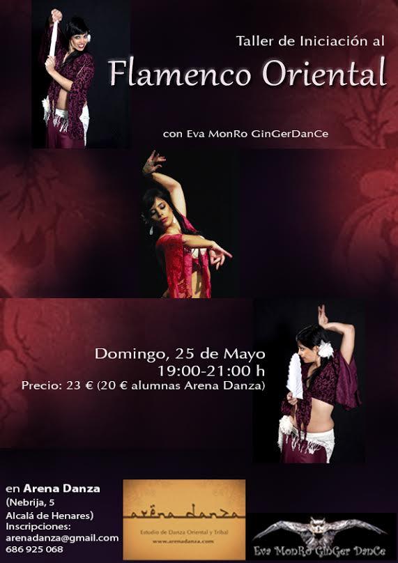 Taller Iniciación al Flamenco Oriental en Madrid con Eva MonRo