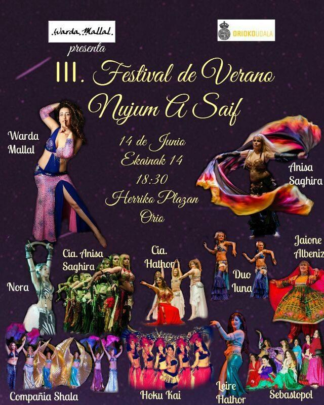 III Festival de Verano Nujum A Saif el 14 de Junio en Guipúzcoa