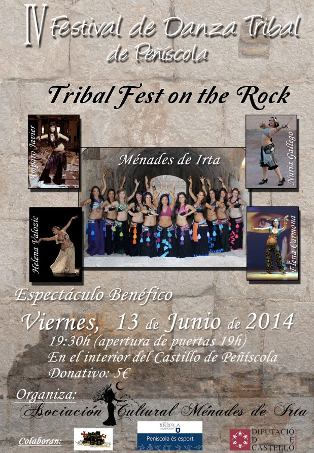 IV Festival de Danza Tribal de Peñiscola ( Castellón)
