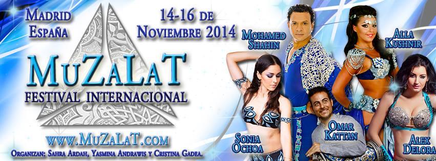 Muzalat Festival Internacional Danza Oriental en Madrid