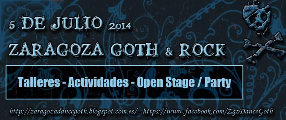 Workshops, Open Stage Party   Zaragoza Dance Goth el 5 de julio de 2014 en Zaragoza