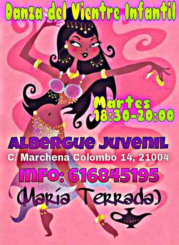 Clases de Danza Oriental con María Terrada Abril en Huelva