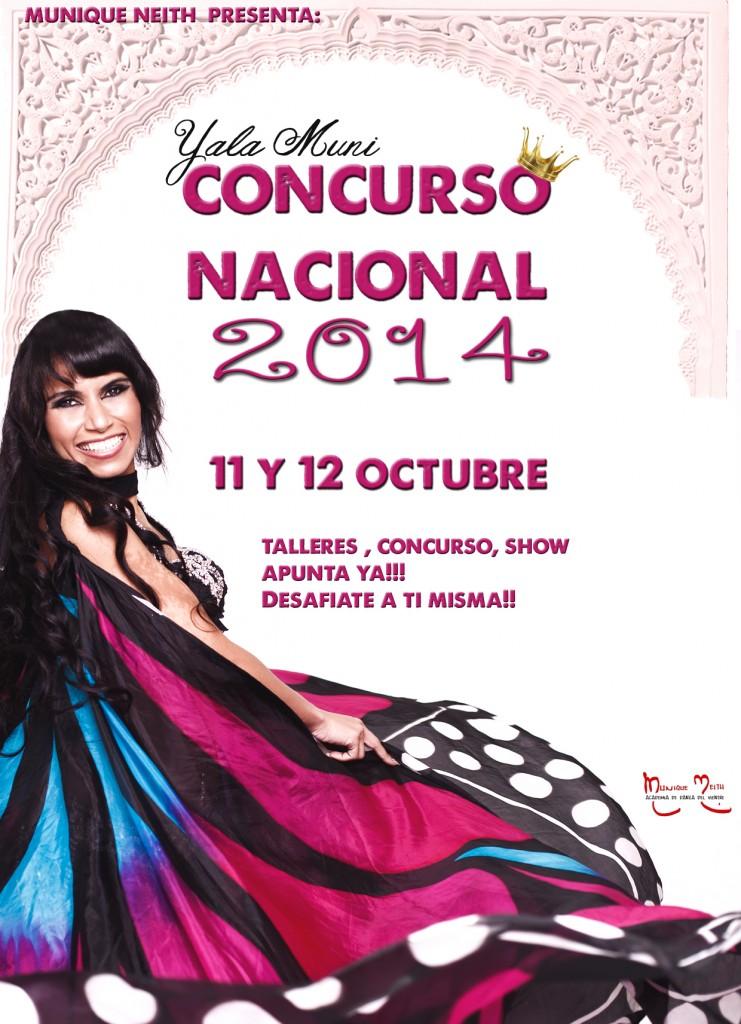 Concurso Nacional de Danza Oriental 2014 Yala Muni con Munique Neith