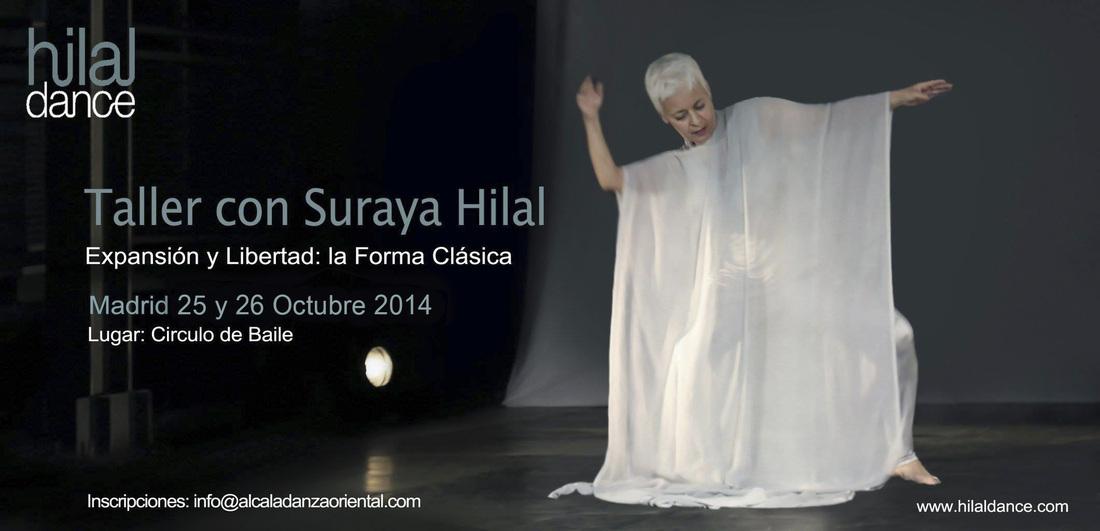 Taller con Suraya Hilal  25 y 26 Octubre de 2014 en Madrid