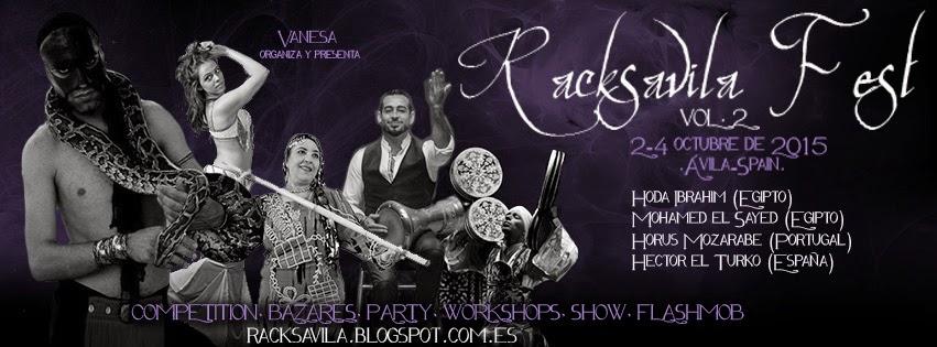 Racks Avila Fest Vol 2 del 2 al 4 Octubre de 2015 en Avila