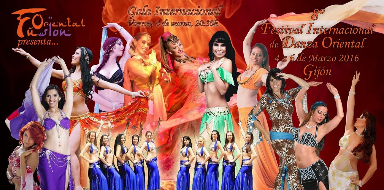 8º Festival Internacional de Danza Oriental del 4 al 6 Marzo de 2016 en Gijón