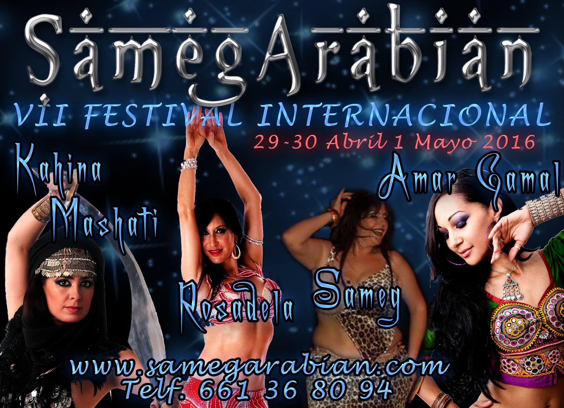 VII Festival Internacional 2016 el 29,30 abril y 1 mayo en Orihuela ( Alicante)